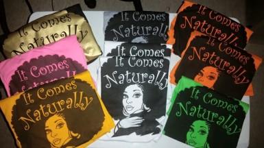 It_Comes_naturally_Tshirts
