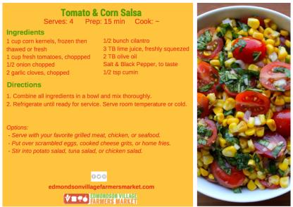 tomato corn salsa