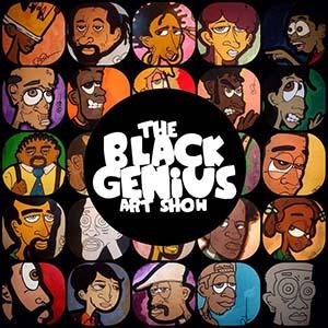 Black Genius Art Show logo
