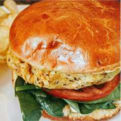 Crabby Patty Vegan Crabcake Baltimore