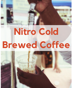 Nitro Cold Brewed Coffee